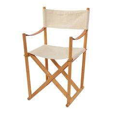 デンマークのデザイナー、Mogens Koch (モーエン・コッホ)によって1932年に試作品が発表されて以来、優れた折りたたみ式椅子の代名詞となっているFOLDING CHAIR。 座面を持ち上げる事で簡単に折りたたみができ、座り心地のよさと安定性のある構造になっています
