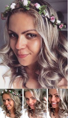 visible repair Blonde Hair Juro Valendo Ju Lopes