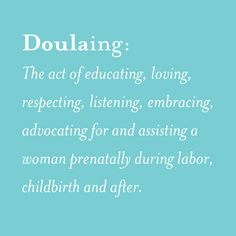 What the heck is a doula anyway? Antonia from Mama's Sunshine explains what they are and why every pregnant woman deserves one.