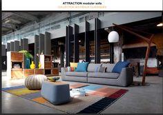 Nice sofa + nice storage