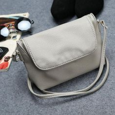 Fashion Women Small Fold Over Bag Mini Women Messenger bags Leather  Crossbody Sling Shoulder bags Handbags 7b15a5f4cae6a