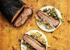 The List: The Top 50 Barbecue Joints in Texas – Texas Monthly Brisket Tacos, Smoked Brisket, Lamb Marinade, Franklin Bbq, Potato Soup, Cheap Meals, Barbecue, Texas Monthly, Good Food