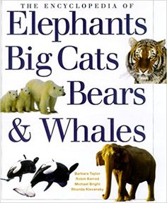 The Encyclopedia of Elephants, Big Cats, Bears & Whales: Rhonda Klevansky: 9781842150719: Amazon.com: Books