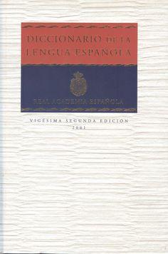 """Real Academia Española. """"Diccionario de la lengua española"""" 22ª ed. 2v. 1 ejemplar"""