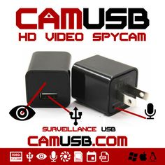 Pre-order The fully functional USB Charger and HD Video/Audio #SpyCamera at huge discount today @indiegogo!