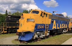 RailPictures.Net Photo: ARR 1500 Alaska Railroad EMD F7(A) at Wasilla, Alaska by Dave Blaze...
