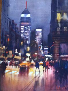 Alvaro Castagnet   NYC 5th Ave, night scene!!!,