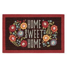 Mohawk® Home ''Home Sweet Home'' Garden Kitchen Rug, Multicolor