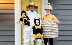 Biene, Imker & Bienenstock Kostüm selber machen | Kostüm Idee zu Karneval, Halloween & Fasching