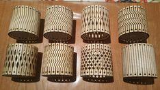 Archivos de láser flexible pulsera corte Vector Art