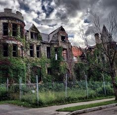 Detroit - There's no other place like it. Tragically beautiful.