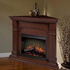 Dimplex Maestro Oxford Corner Cherry Fireplace - SMP-195C-C-ST - Fireplaces & Accessories - Decor