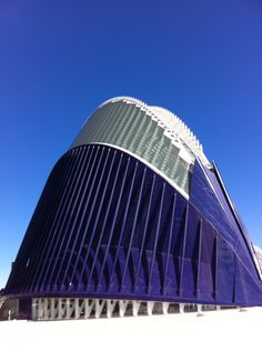 De futuristische gebouwen van architect Calatrava (Valencia-Spanje) zijn erg indrukwekkend.