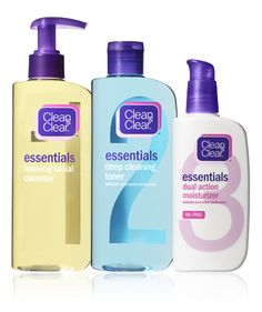 Clean and Clear Essentials Sensitive Skin- Seriously AMAZING! I love this! Non-drying, but it still cleanses extremely well! Best skin product ever! Must try if struggling with acne/blemishes!