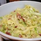 Creamed cabbage-this was SO GOOD!!  It made too much for just me (the boys wouldn't touch it) but definitely delicious!