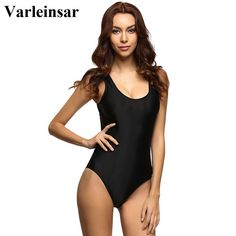 7d40bdcd6fbef US $12.69 19% OFF|Aliexpress.com : Buy 9 Colors S 6XL Plus Size Scoop Back  2019 Women Swimwear One Piece Swimsuit Female Bather Bathing Suit Swim  Monokini ...