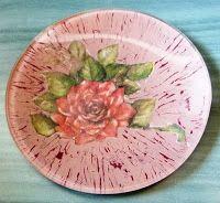 Mi Rincón de Manualidades: ROSAS VERANIEGASRealizadas en tonos: Dusty Rose y ...