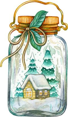 Клипарты, clipart, скрап-наборы для творчества Diy Xmas, Christmas Drawing, Christmas Makes, Christmas Paintings, Christmas Pictures, Winter Christmas, Christmas Time, Christmas Crafts, Christmas Ornaments