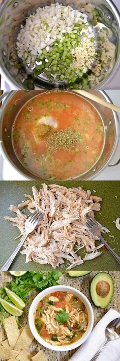 Chicken & Lime Soup | Gurman chef