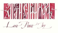 Georgia Angelopoulos (The Passionate Pen 2015 Calligraphy Conference) Love-Peace-Joy-2_cropped800x457