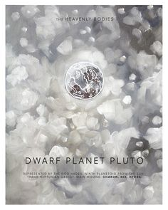 Pluto the Dwarf Planet - Heavenly Bodies by wellsillustration, $12.00