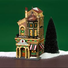 "Department 56: Products - ""Russian Tea Room"" - View Lighted Buildings"