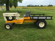 Small Tractors, Old Tractors, Antique Tractors, Tractor Snow Plow, Cub Cadet Tractors, Go Kart Frame, Homemade Tractor, Lawn Mower Tractor, Diy Go Kart