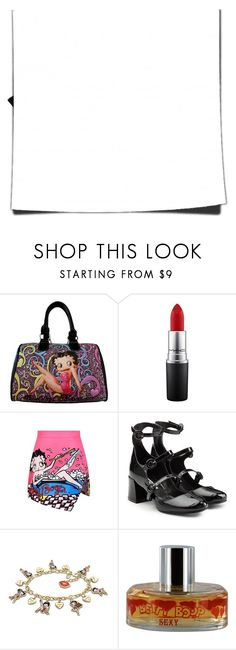 """""""BETTY BOOP BOOP BOOP"""" by kareng-357 ❤ liked on Polyvore featuring Betty Boop Signature Product, Betty Boop, WithChic, McQ by Alexander McQueen and The Bradford Exchange"""