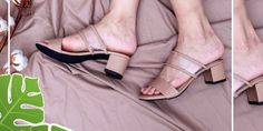 Jual Sandal Wedges Sandal Wedges, Wedge Sandals, Peep Toe, Heels, Fashion, Heel, Moda, Wedge Flip Flops, Fashion Styles