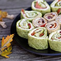 Why reinvent the wheel when it's not broken? These sammich wraps are super easy & super delicious.