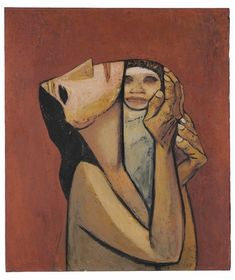 View Maternidad by Eduardo Kingman on artnet. Browse upcoming and past auction lots by Eduardo Kingman. Art And Illustration, Eduardo Kingman, Cubism Art, Cubist Artists, Abstract Painting Techniques, Figurative Kunst, Abstract Faces, Political Art, Inspiration Art