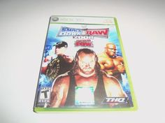 Smackdown Vs. Raw 2008 Xbox 360 Game W/Free Shipping!