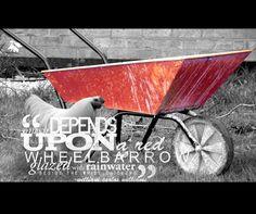 Red Wheelbarrow by EndertheThird.deviantart.com on @DeviantArt