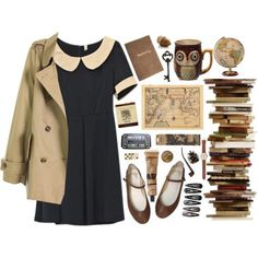 A fashion look from October 2013 featuring J.Crew watches, Alkemie rings and Charlotte Olympia earrings. Browse and shop related looks.
