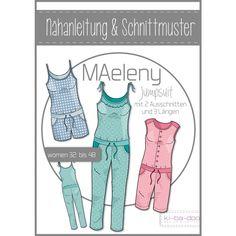 ki-ba-doo - Schnittmuster - MAeleny Jumpsuit - Damen