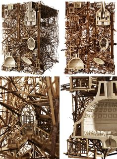 Art & Architecture: 3 Beautiful Dream-Like Building Models