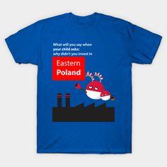Polandball - Invest in Eastern Poland on @teepublic by DigitalCleo #polandball #poland