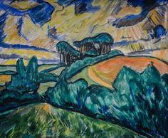 Landscape in Holstein 1913 Erich Heckel