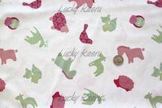 SALE/CLEARANCE Newcastle Cathy Heck Studio by luckykaerufabric (Craft Supplies & Tools, Fabric, girl, cute, kawaii, deer, animal, nursery)