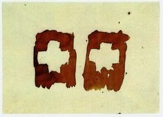 Joseph Beuys - Banner (Toros) | (After Death What Has Validity?) - 1958