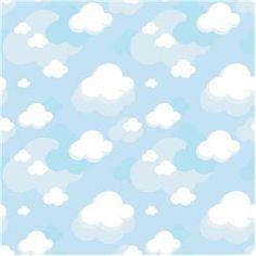 Papel de Parede Adesivo - Nuvens - 025ppb - Papel de Parede no Pontofrio.com