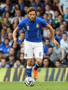 Claudio Marchisio of Italy in action during the International...
