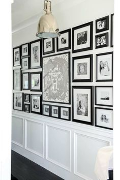 fine 32 White Wall and Picture Frames in Hallway Decorating Ideas https://matchness.com/2017/12/27/32-white-wall-picture-frames-hallway-decorating-ideas/