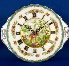 Royal Albert - Chelsea Bird Clock Plates