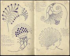 Carnet de Croquis Marie Armand Daniel BIENVENU (1836 - 1911) Source: desmodeset