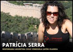 Responsable viajes a Argentina, Venezuela, Japón e Islandia