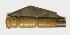 """1650 Between 1650 and 1700, the peasant knife (or """"penny knife"""") became an affordable and widely distributed option for the first time in history. Sheffield, England became the epicenter of production. The cost made them popular items with farmers and workers. Opinel still makes knives reminiscent of these classics."""