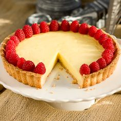 This French lemon tart, or Tarte au Citron, is the most exquisite citrus dessert you'll ever experience.