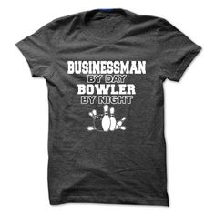 Businessman by day Bowler by night, Order HERE ==> https://www.sunfrog.com/Sports/Businessman-by-day-Bowler-by-night-56820644-Guys.html?6789, Please tag & share with your friends who would love it , #christmasgifts #renegadelife #jeepsafari