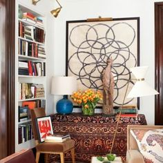 Nothing beats a space that is collected over time. Love this @peterdunhamdesign via @verandamag #buywhatyoulove  #liveawellcollectedlife #inspired